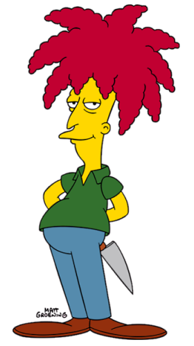 Sideshow Bob, courtesy wikipedia