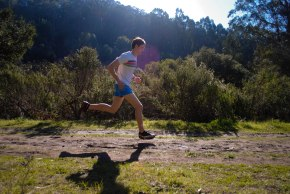 Random running picture. Tilden Park is Awesome. Go Janji!